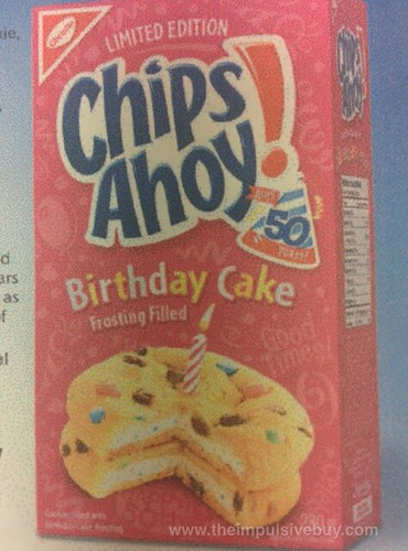 Chips Ahoy Birthday Cake Cookies