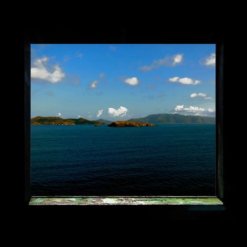 panorama seascape window island finestra tortola bvi britishvirginislands isola isolevergini giorgioghezzi