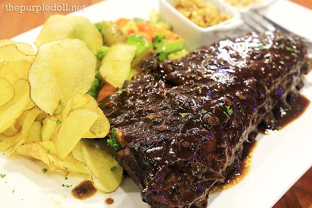 Stars BBQ Pork Ribs (P960)