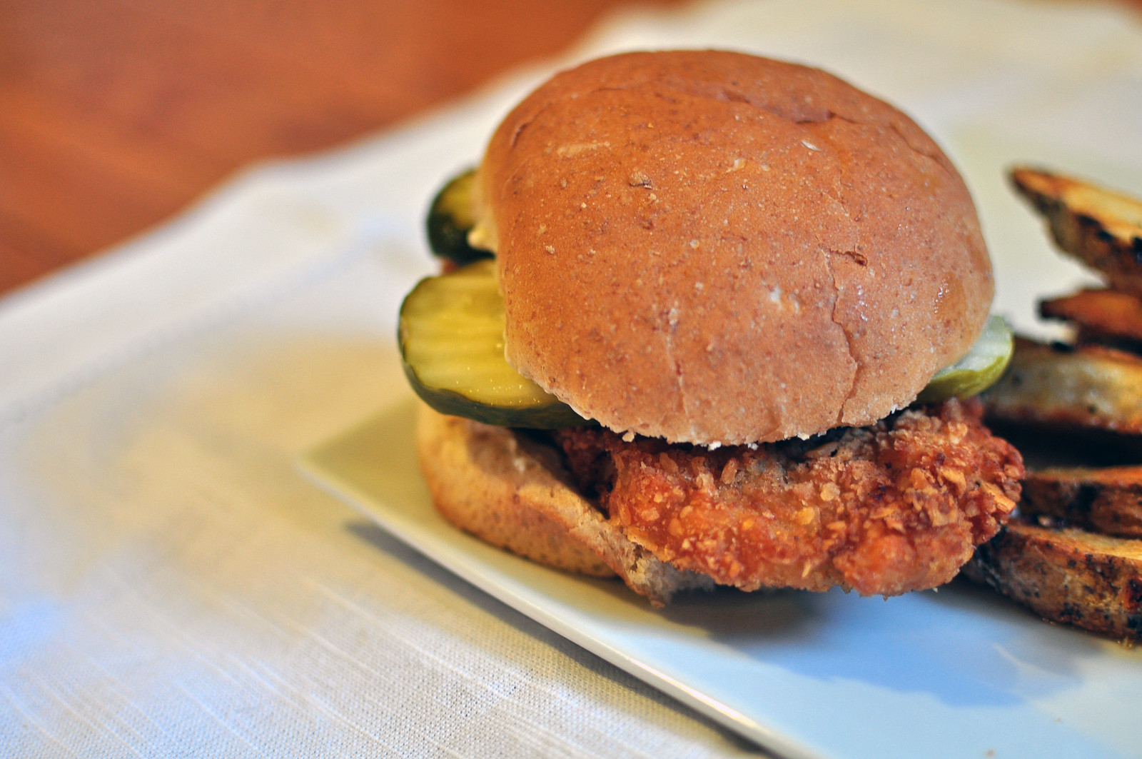Crispy Pork Tenderloin Sandwich 2