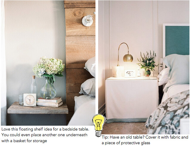 Bedside Table Ideas 3