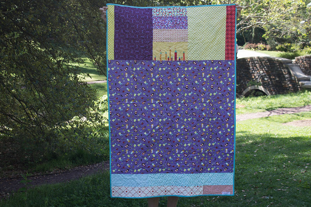Grace Circle February Quilt Back