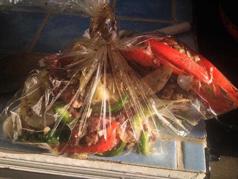 Beef Fajitas : Leave to Marinade