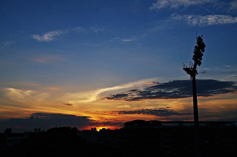 隨手拍的夕陽
