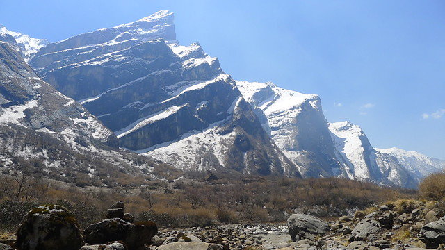 Entering the Annapurna Sanctuary