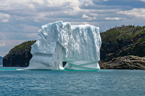 Iceberg Near Triton Island, Green Bay