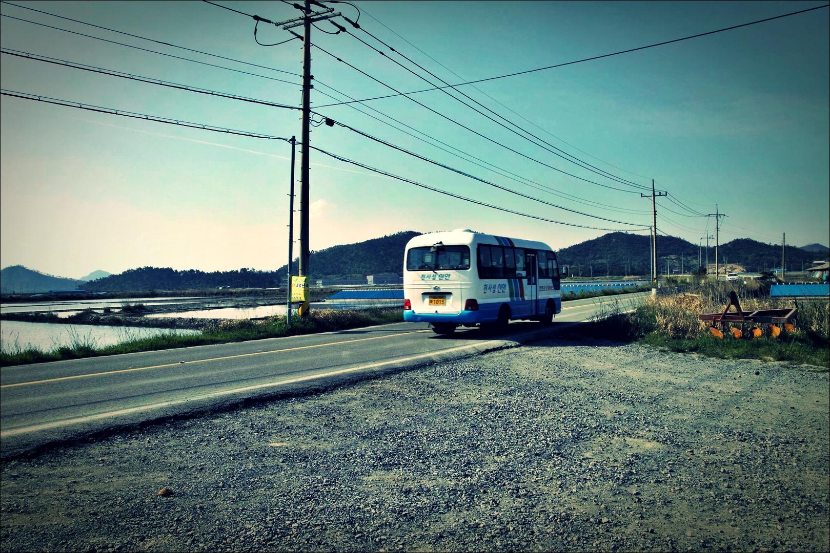 버스-'비금도 Bigum Island Shinan'