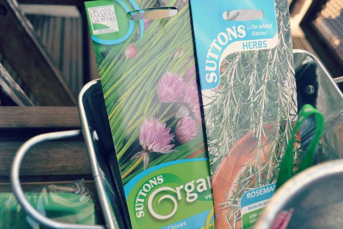 balcony garden herbs seeds