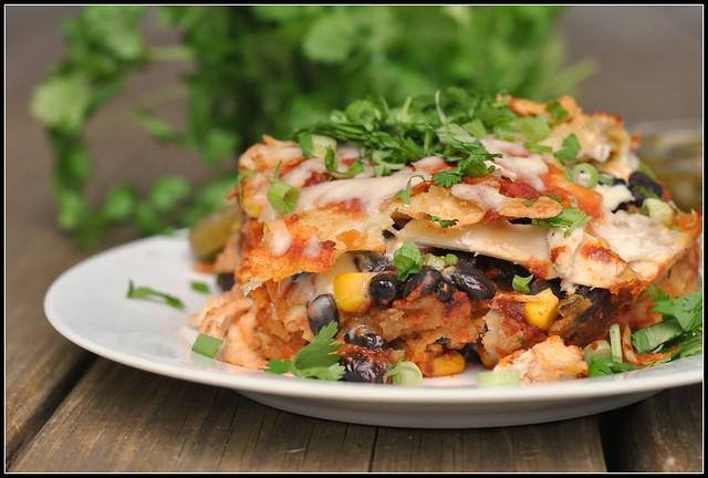 Chicken Enchilada Casserole 1