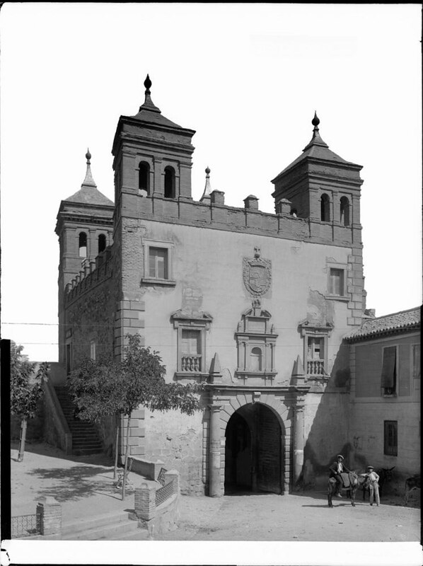 Puerta del Cambrón a comienzos del siglo XX. Fotografía de J. Lacoste © MECD, Fototeca del IPCE, signatura VN-22668_P