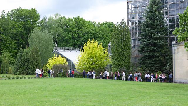 Lviv botanic garden. Ukraine