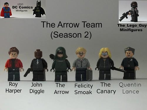 Dc comics the arrow team based off arrow season 2