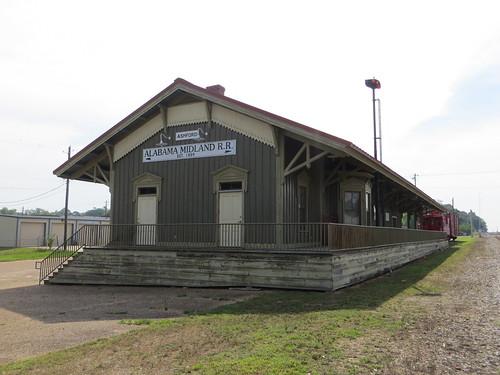 Alabama Midland Railway Depot Ashford AL