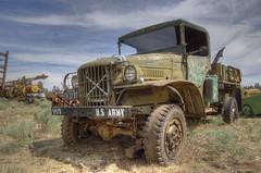 Dodge M37 U.S. Army truck HDR