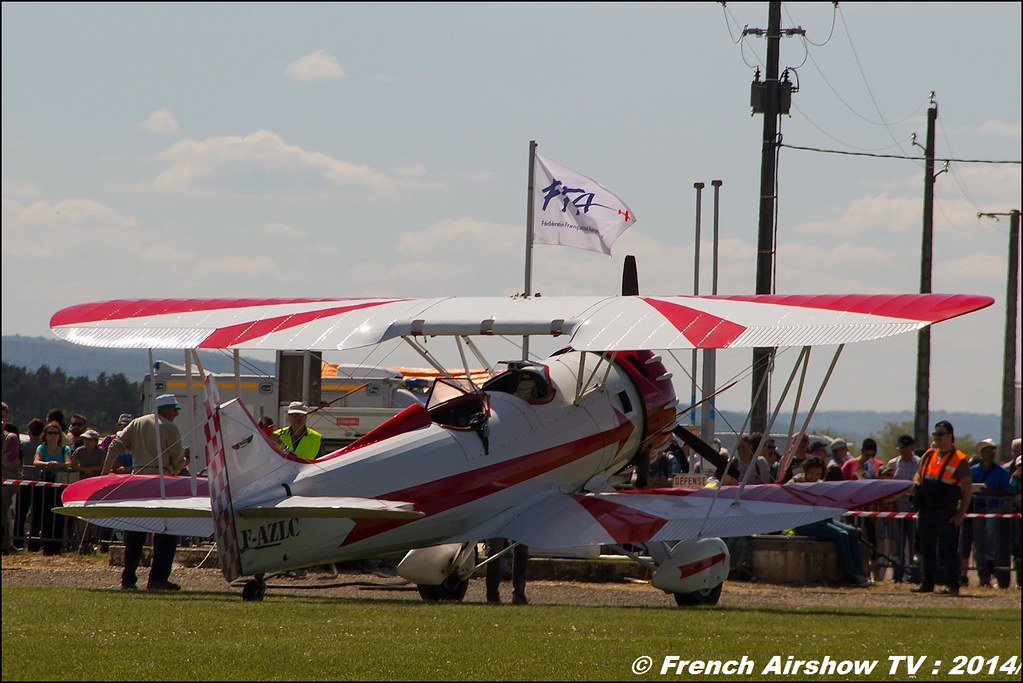 Waco F-AZLC SIERRA WHISKY, Til Chatel Meeting aerien 2014