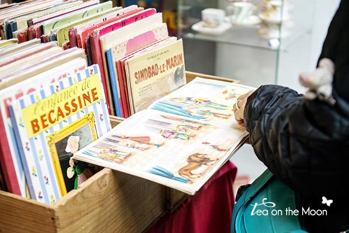 Paris mercado de las pulgas saint ouen libros