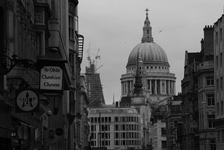 St Paul's from Fleet Street, London