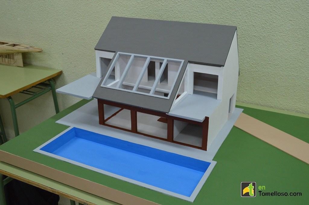 Maquetas De Casas Modernas Con Piscina M 225 S De 1000