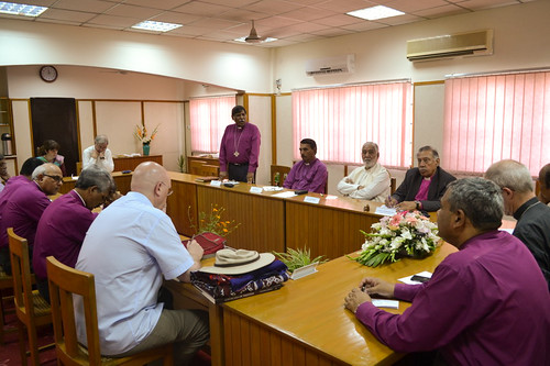 A meeting with the Archbishop of bishops of the Church of Pakistan