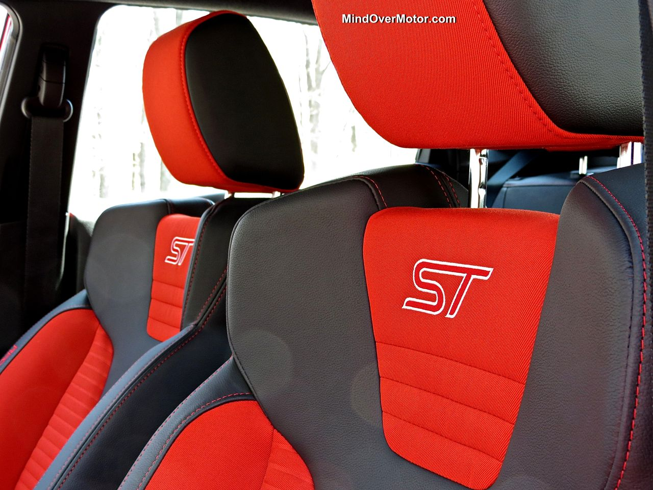 Ford Fiesta ST Seats