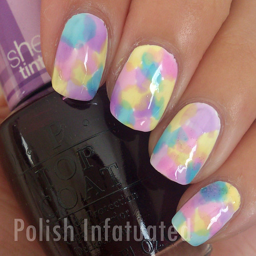 sheer tints nail art1