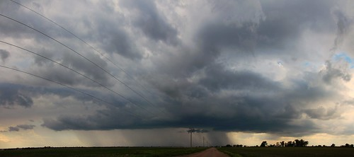 053104 - Non Severe Nebraska Thunderstorms (Pano)