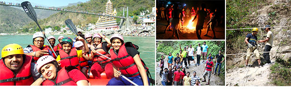 VE's River Rafting Adventure Trip to Rishikesh