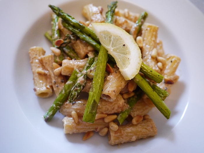 degustabox recipe asparagus and lemon pasta 5