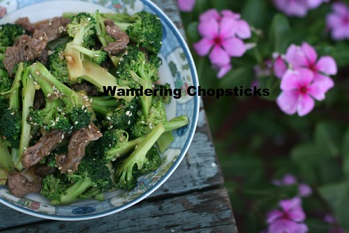 Chinese Beef and Broccoli Stir-fry 1