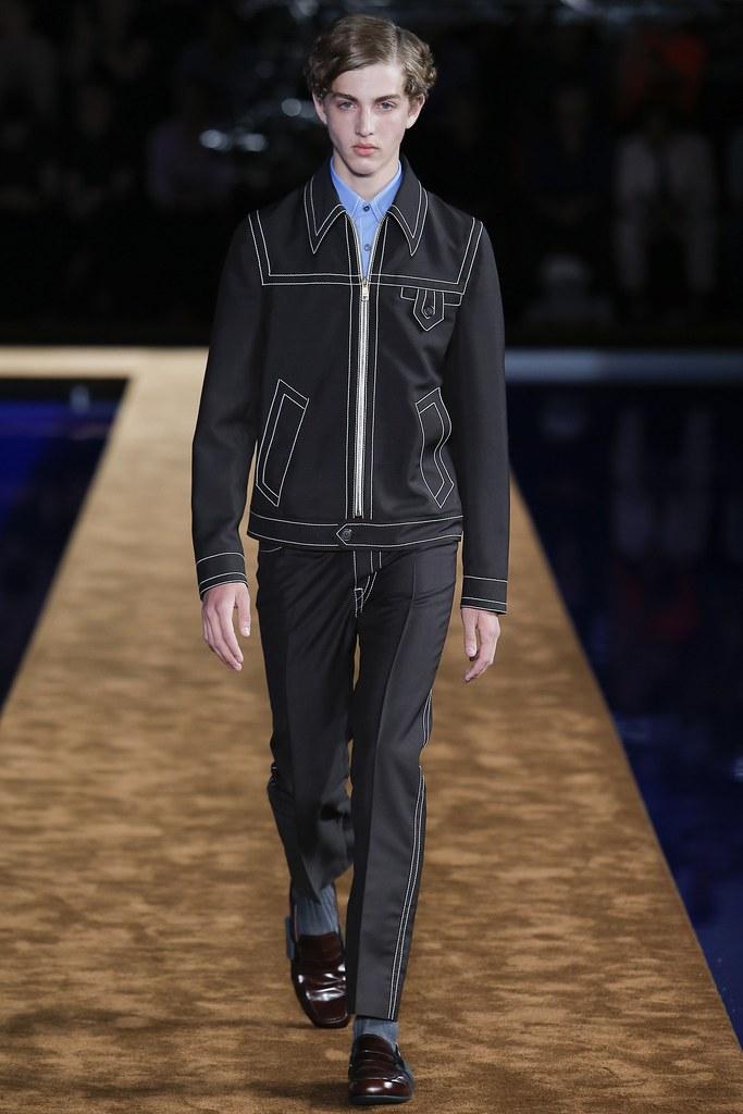 SS15 Milan Prada004_Marin @ Premium Models(VOGUE)