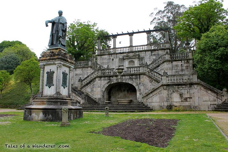 SANTIAGO DE COMPOSTELA - Parque de la Alameda