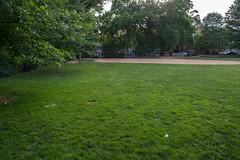 looking at SW corner of Volta Park - Washington DC