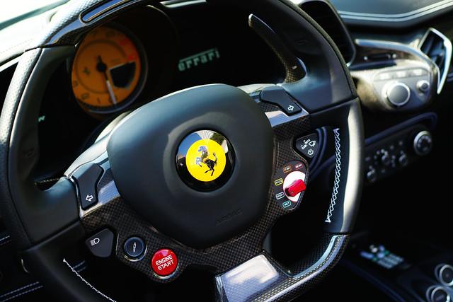 Quattro Shoot  Ferrari F458 Spider