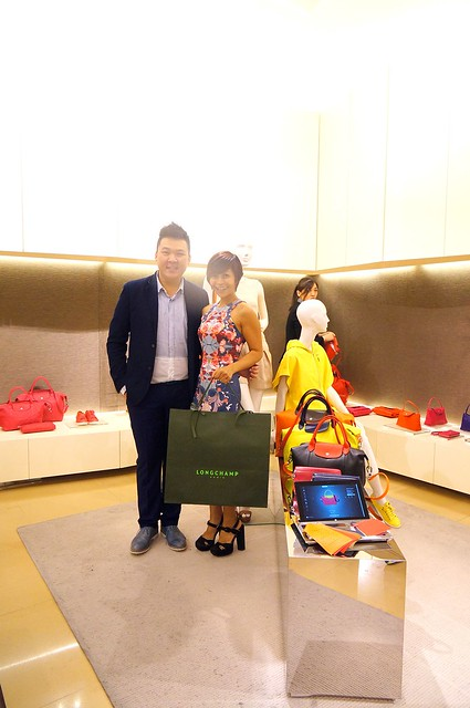 Personalize your Longchamp Le Pliage Cuir at Pavilion Malaysia-006