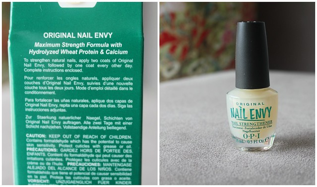 nail envy natural nail strengthener maximum strength formula opi original shiny prowide brush australian beauty review ausbeautyreview long pretty beautiful daily