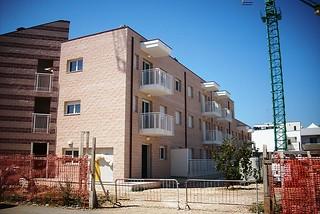 Noicattaro. Case comunali front