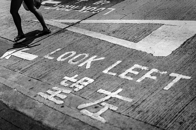 Look left from Flickr via Wylio