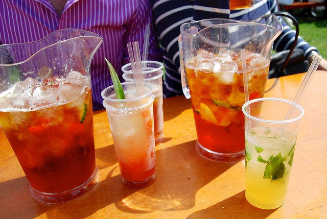 Pimm's at Polo In The Park