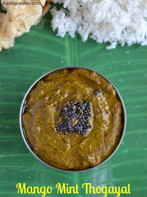 Mint Leaves Thogayal without coconut