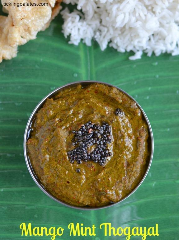 Mango pudhina Thogayal
