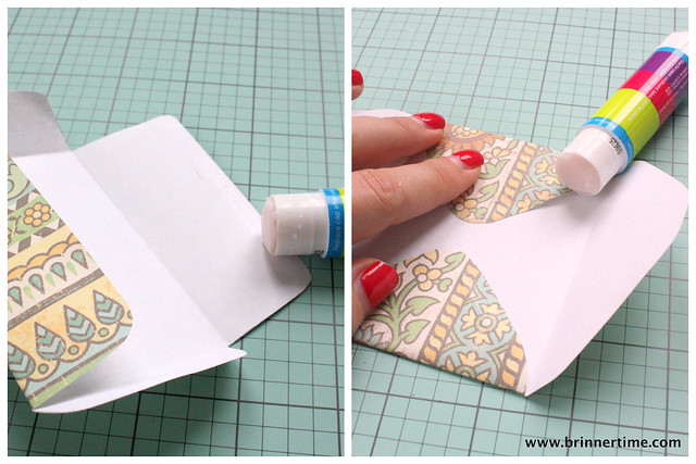 Envelope template tutorial, www.brinnertime.com
