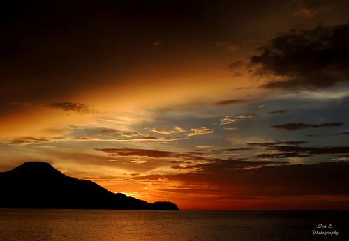 sunset sky colors atardecer mar costarica playa colores ciel pacificocean cielo puestadesol guanacaste centroamérica océanopacífico coucherdusolei