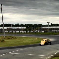 On track for practice #8 #HooliganMotorsports #uslegends #racecar #maine #CaseyJonesBones #HobbyEmporium #FOR