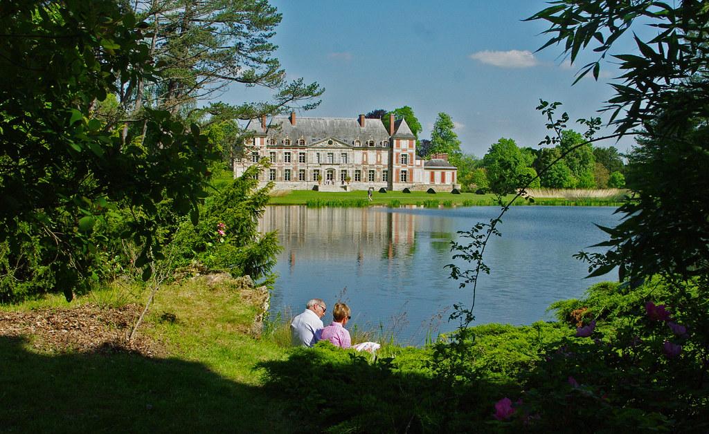 Les Plaisirs De Nos Grands Parcs Chateau De Courson Esso