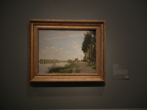 DSCN1832 _ Argenteuil, ca. 1872, Claude Monet, National Gallery of Art at Legion of Honor