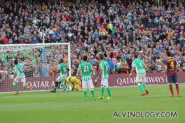 Messi scored!