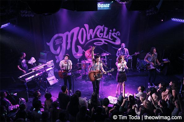 The Mowglis @ The Troubadour, LA 7/8/14