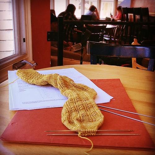 Time for Kitchenering #wwkip #knittersofinstagram #sockknitting #bluepeninsula