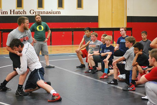 SPORTS - wrestling camp 1