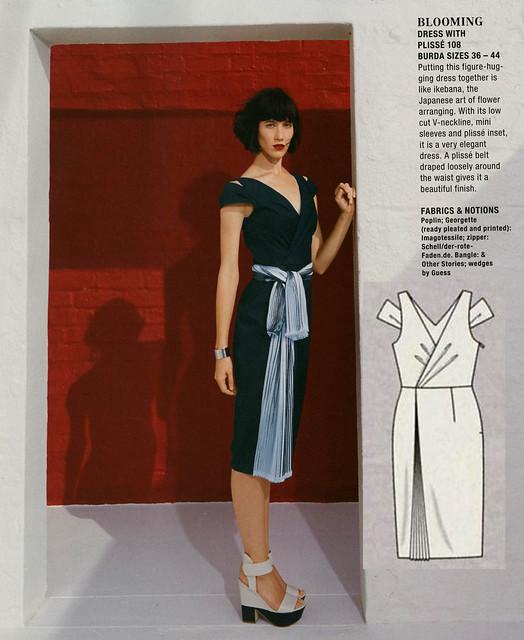 Burda-June-2014_Double Shoulder Wrap Dress